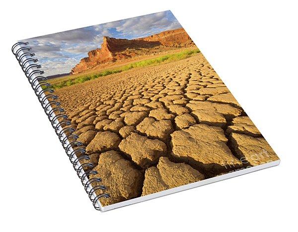Drought Glen Canyon Utah Spiral Notebook