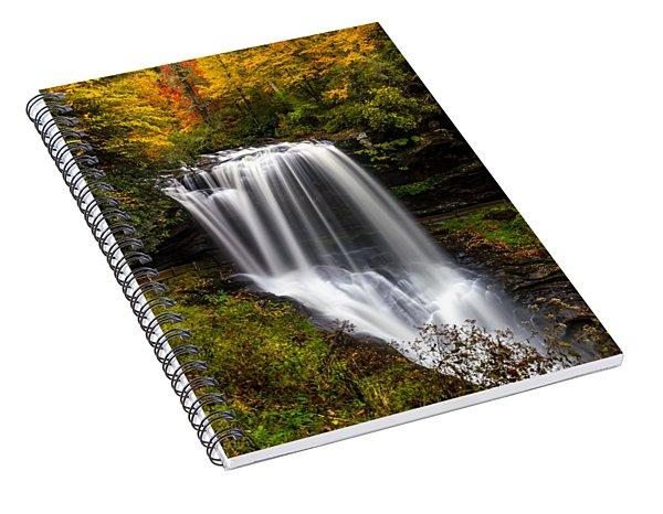 Dry Falls In October  Spiral Notebook