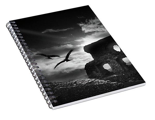 Dryslwyn Castle 3b Spiral Notebook