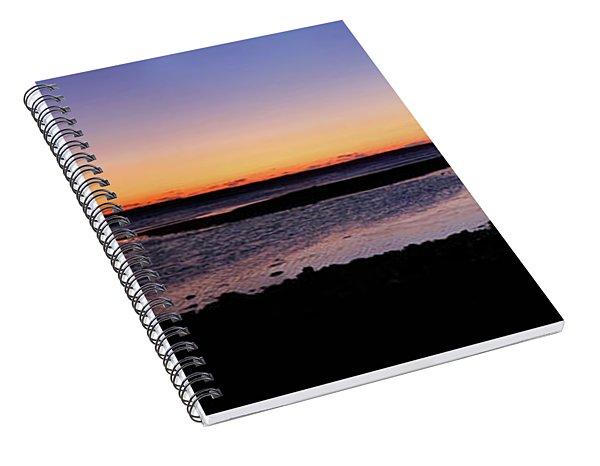 Ducktrap Harbor Sunrise Spiral Notebook