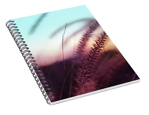 Dune Scape Spiral Notebook