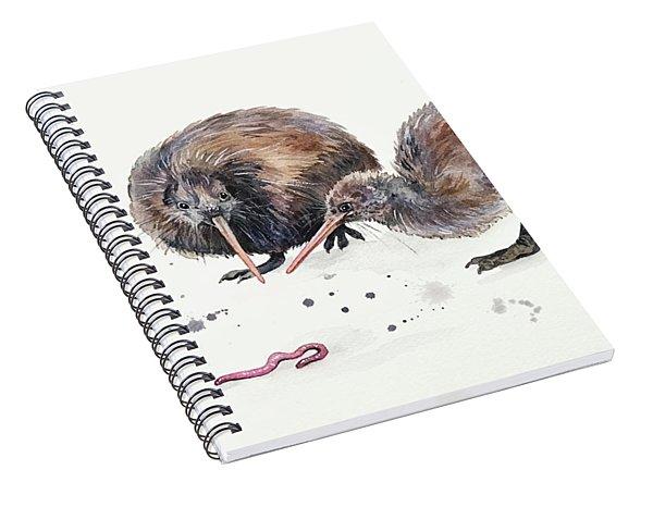Early Birds Spiral Notebook
