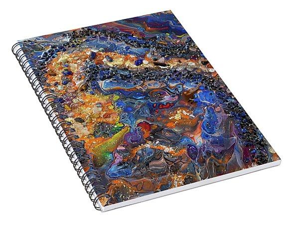 Earth Gems #18w01 Spiral Notebook