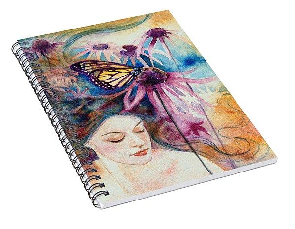 Echinacea Spiral Notebook