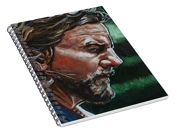 Eddie Vedder Spiral Notebook