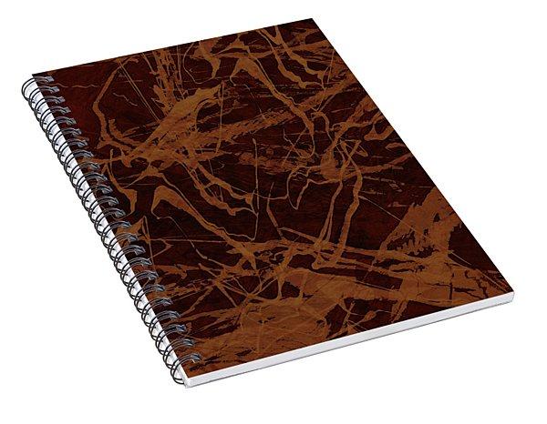 Edition 1 Rust Spiral Notebook