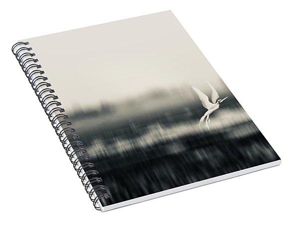 Egret Land Spiral Notebook