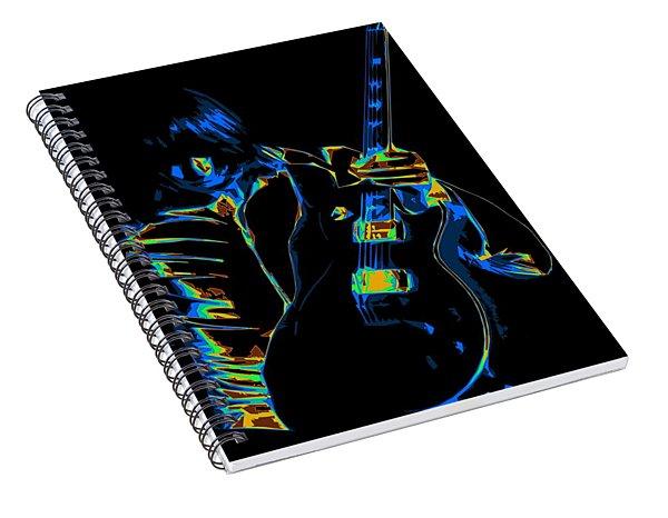 Electric Scholz Spiral Notebook