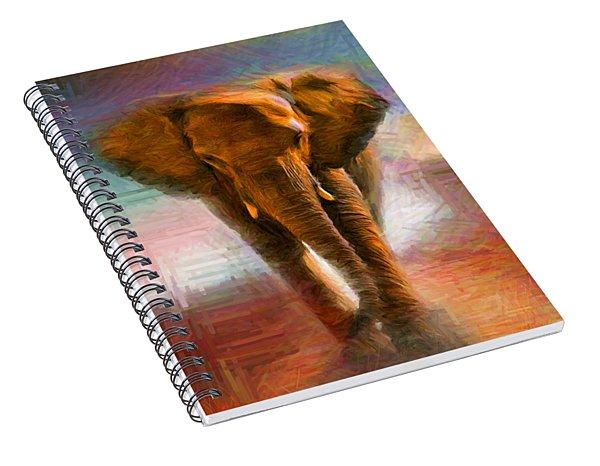 Elephant 1 Spiral Notebook