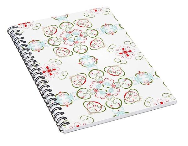Elegant Christmas #02 Spiral Notebook