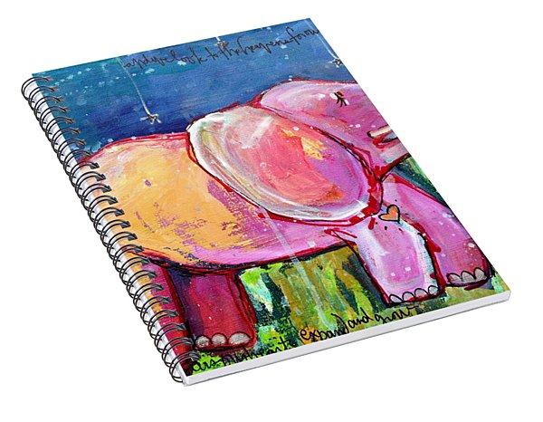 Emily's Elephant 2 Spiral Notebook