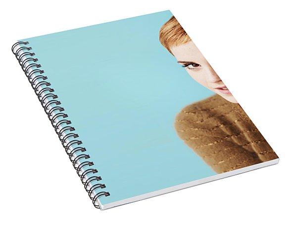 Emma Watson Spiral Notebook
