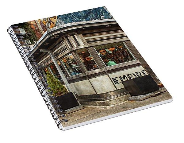 Empire Diner Spiral Notebook