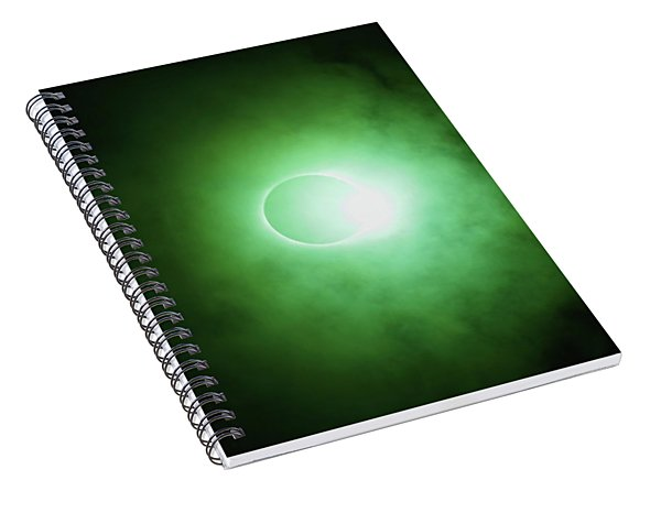 End Of Totality Spiral Notebook