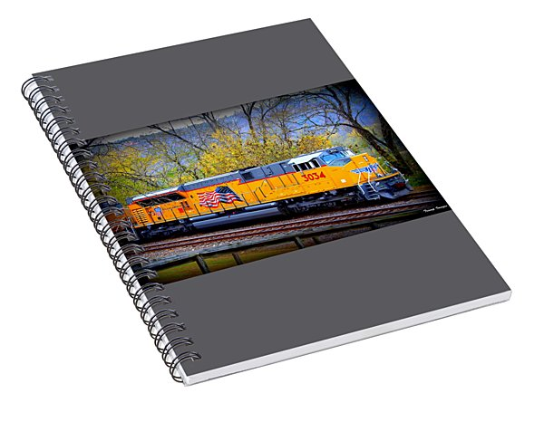 Engine #3034 Spiral Notebook