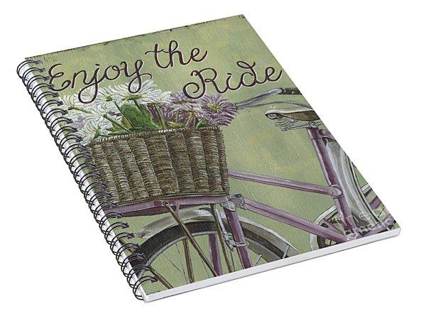 Enjoy The Ride Spiral Notebook