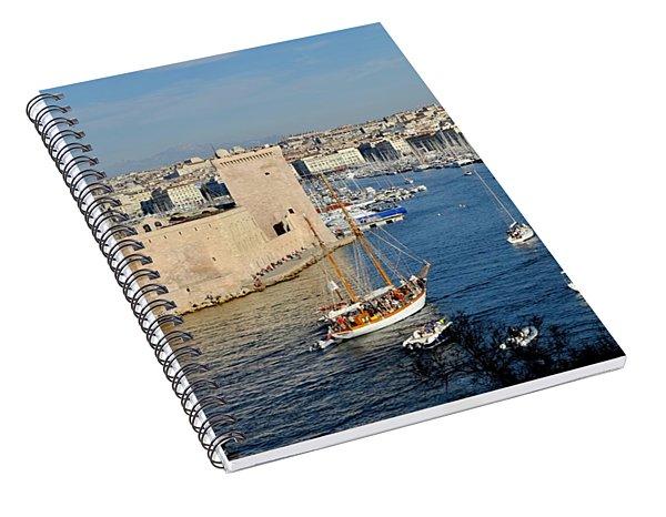 Entrance Of Marseille Spiral Notebook