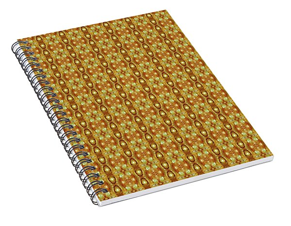 Spiral Notebook featuring the mixed media Epic 54cd2 Chuarts Limited Edition by Clark Ulysse