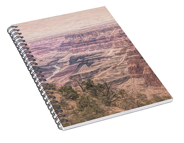 Essence Of The Canyon Spiral Notebook