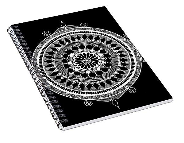 Estrella Mandala Spiral Notebook