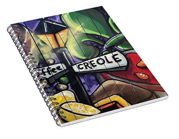 Etouffee Creole Spiral Notebook
