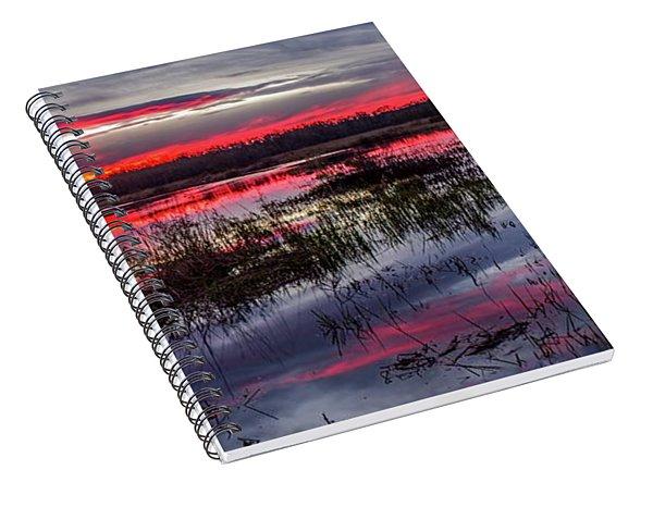Eugene Stump Sunset Spiral Notebook