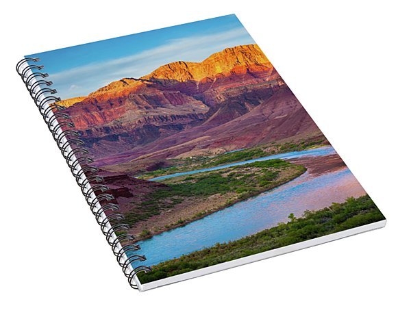 Evening At Cardenas Spiral Notebook