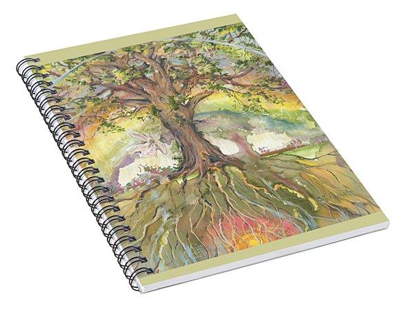 Eye See My Healing Tree Spiral Notebook