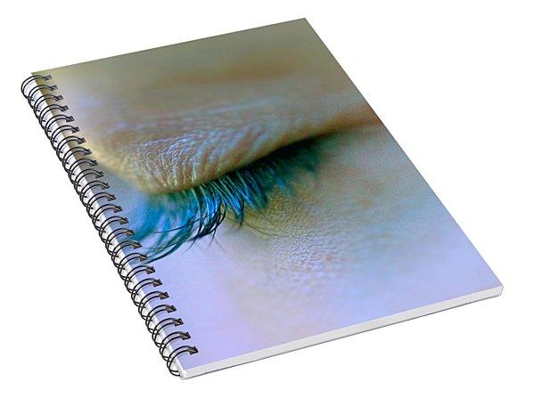 Eyelashes Spiral Notebook