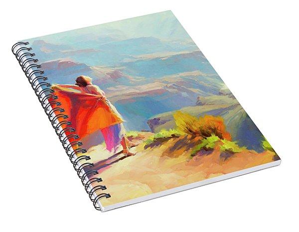 Eyrie Spiral Notebook