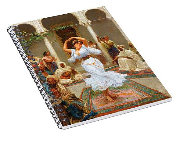 Fabio Fabbi The Dancer Spiral Notebook