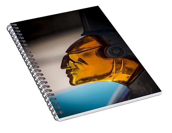 Face Forward Spiral Notebook