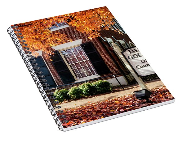 Fall At The Gold Museum Spiral Notebook