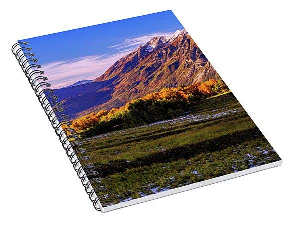 Fall Meadow Spiral Notebook