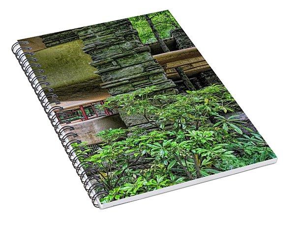 Falling-water Frank Lloyd Wright Hd Spiral Notebook