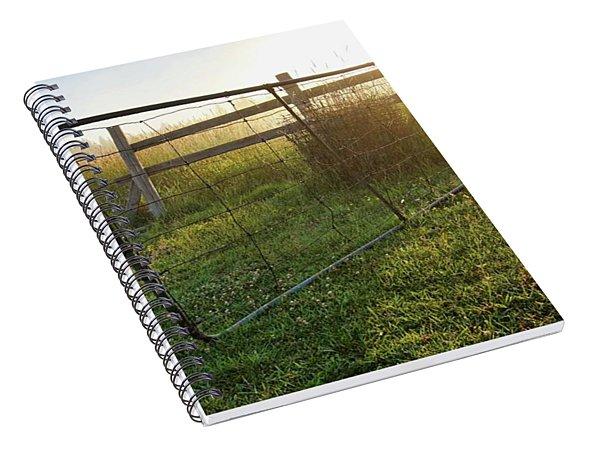 Farm Gate Spiral Notebook