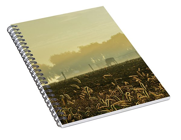 Farm Sunrise #4 Spiral Notebook