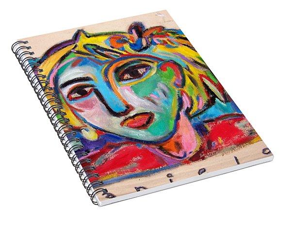 Fas Girl Spiral Notebook