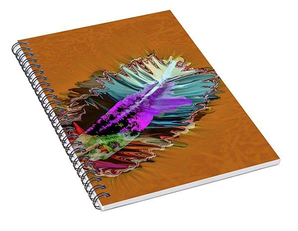 Feather #h8 Spiral Notebook