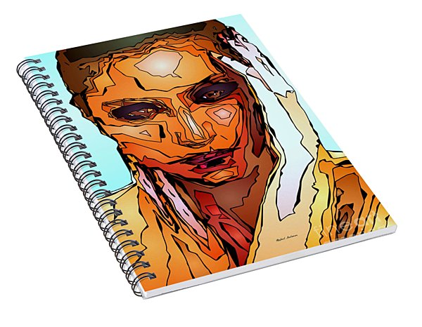 Female Tribute Vii Spiral Notebook