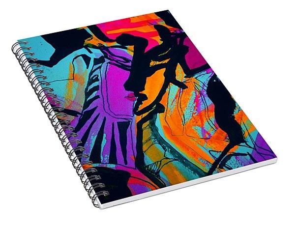 Femme-fatale-12 Spiral Notebook
