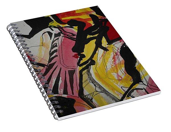 Femme-fatale-14 Spiral Notebook