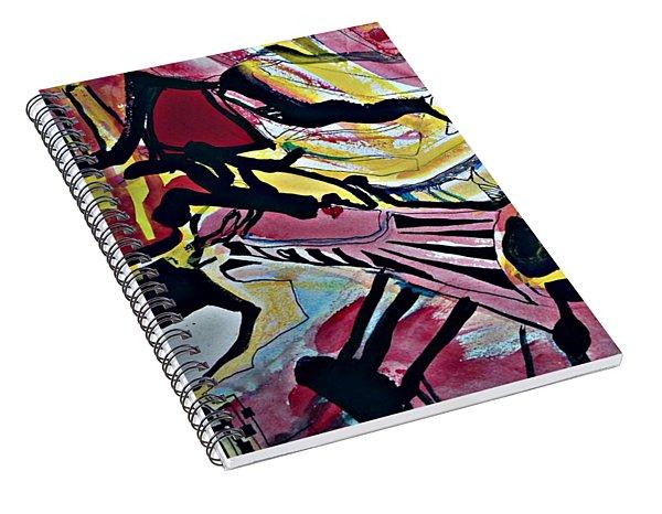 Femme-fatale-16 Spiral Notebook