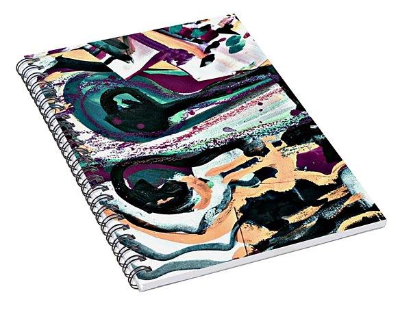 Femme-fatale-19 Spiral Notebook