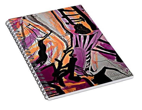 Femme-fatale-7 Spiral Notebook