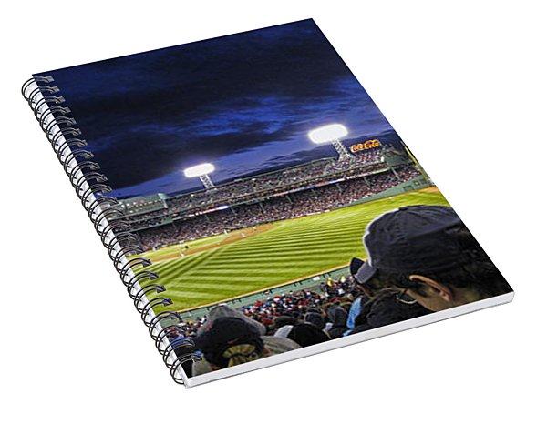 Fenway Night Spiral Notebook