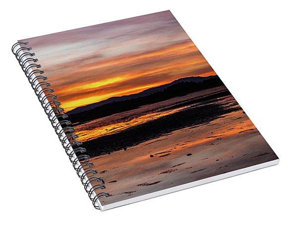 Fern Ridge Sunset 1 Spiral Notebook