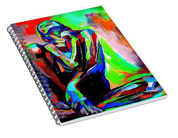 Fervidly Spiral Notebook