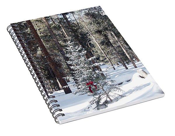 Festive Forest Spiral Notebook