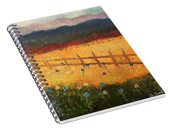 Field Of Beauty Spiral Notebook
